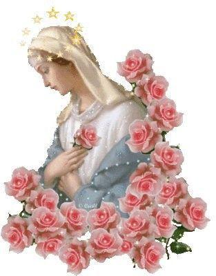 PRIERE A NOTRE DAME DES ROSES